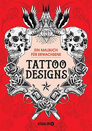 9783426787564: Tattoo Designs: Ein Malbuch f�r Erwachsene