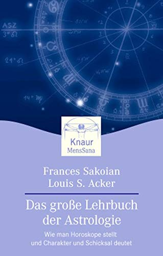 9783426870877: Das groáe Lehrbuch der Astrologie