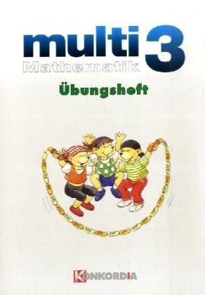 9783427017066: multi Mathematik 3. Übungsheft. Baden-Württemberg