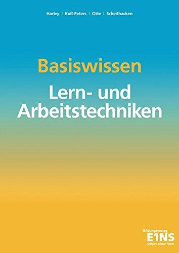 9783427048510: Basiswissen Lern-und Arbeitstechniken. Arbeitsbuch