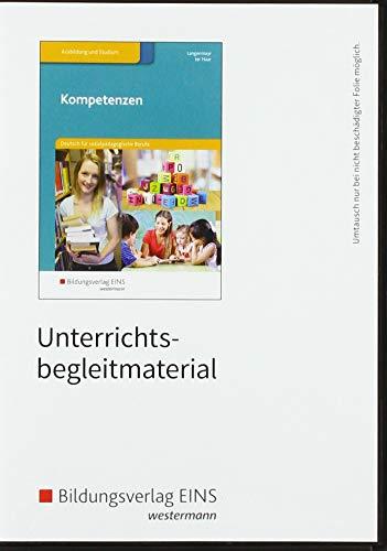 9783427066163: Kompetenzen - Deutsch für sozialpädagogische Berufe. Lehrermaterial CD-ROM
