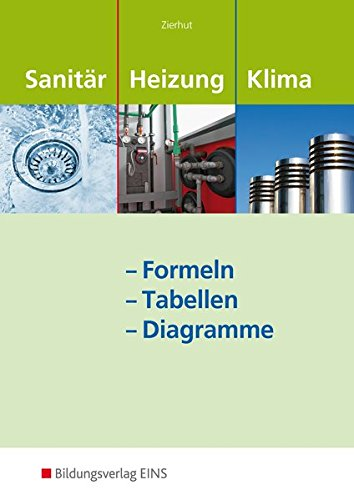 9783427074915: Sanit�r-, Heizungs- und Klima - Formeln - Tabellen - Diagramme: Formelsammlung