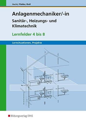 9783427075851: Anlagenmechaniker. Lernfelder 4 - 8. Arbeitsheft
