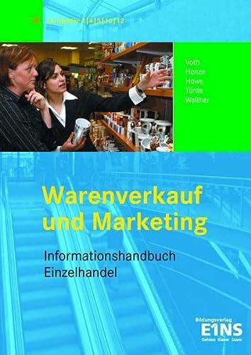 9783427078289: Informationshandbuch Warenverkauf und Marketing.