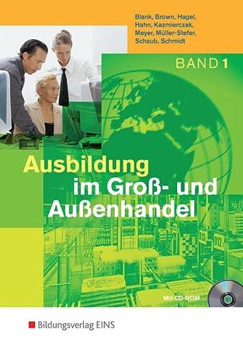 9783427100317: Ausbildung im Groß- und Außenhandel 1: Lehr-/Fachbuch