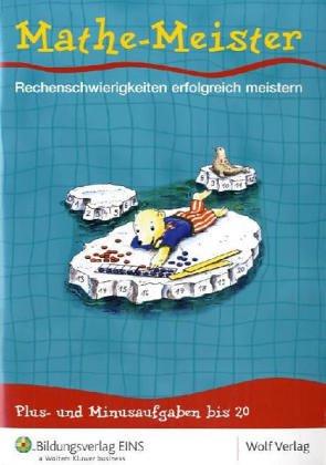 9783427100522: Mathe-Meister 2. Arbeitsheft: F�rdermaterial Rechenschw�che: Plus- und Minusaufgaben bis 20 Arbeitsheft