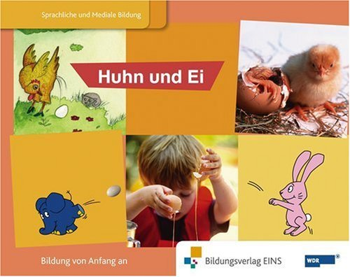 9783427104667: Blauer Elefant 3 Bilderbuch Huhn und Ei: Sprachförderung mit dem blauen Elefanten Bilderbuch. Die Welt ist elefantastisch