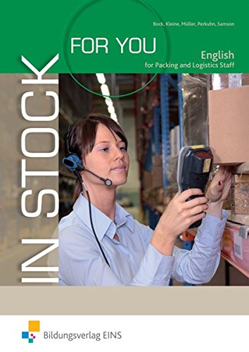 In Stock For You. English for Packing: Kirsten Kleine; Nina