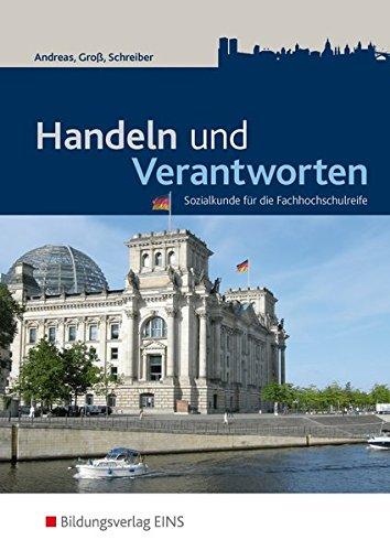 9783427150008: Handel und Verantworten 4 / 5. Lehr-/Fachbuch: Sozialkunde für die Fachhochschulreife