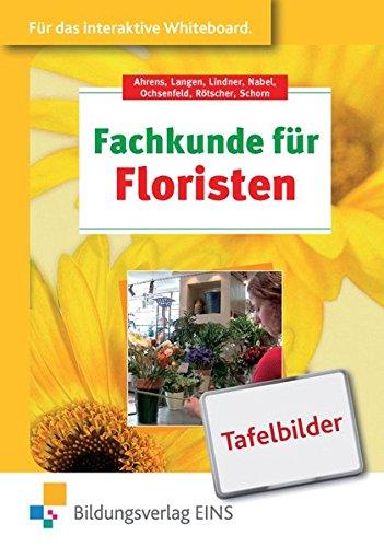 9783427217336: Fachkunde für Floristen: Tafelbilder für das interaktive Whiteboard