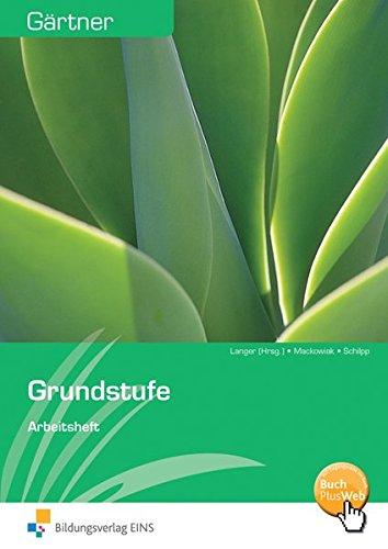 9783427221807: Gärtner Grundstufe. Arbeitsheft