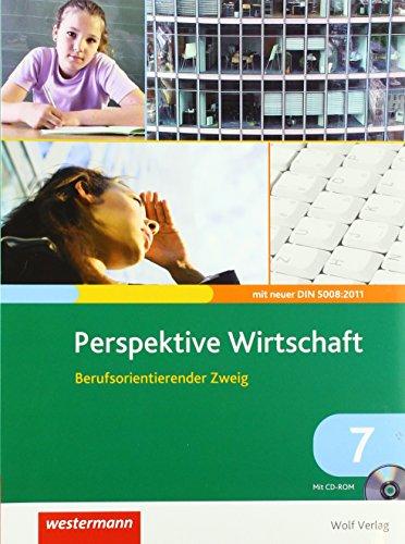 9783427270317: Perspektive Wirtschaft 7