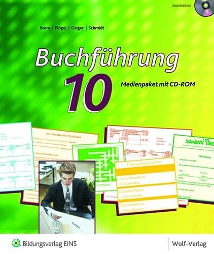 9783427291015: Buchführung 10: Medienpaket mit CD-ROM für den Kommunikationstechnischen Bereich und das Wahlfach Buchführung Medienpaket