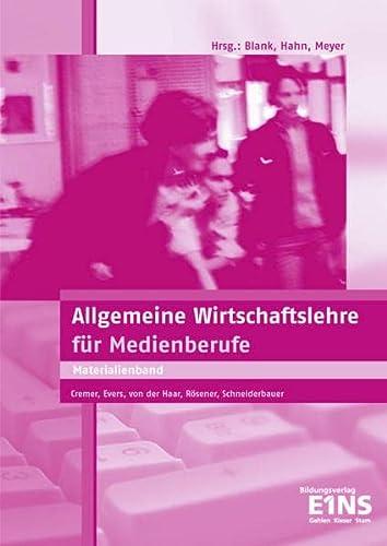 9783427325901: Allgemeine Wirtschaftslehre Medienberufe: Lehrerhandbuch