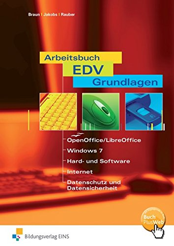 9783427349815: Arbeitsbuch EDV-Grundlagen OpenOffice / StarOffice