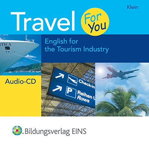 9783427399209: Travel For You - English for the Tourism Industry. Audio-CD