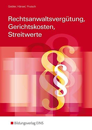 9783427403203: Grundlagen Kosten- und Gebührenrecht. Fachbuch