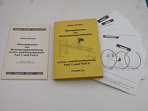 9783427446521: Übungskarten zur Bewegungserziehung in Vor- und Grundschule