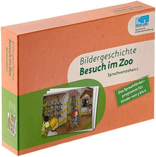 9783427501404: Kon-Lab. Bildergeschichte Besuch im Zoo: Sprachverstehen 2