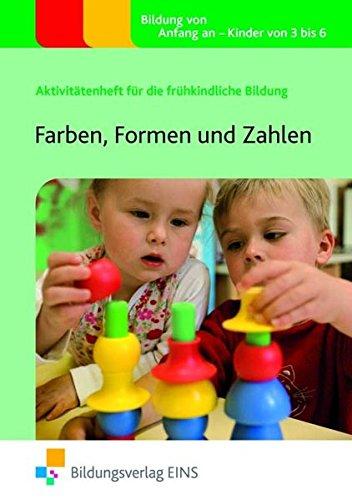 9783427503675: Farben, Formen und Zahlen: Aktivitätenheft für die frühkindliche Bildung