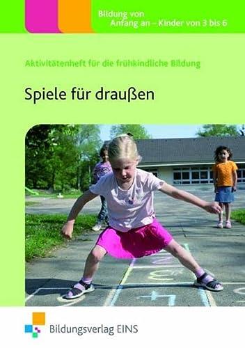 9783427503828: Spiele für draußen: Handbuch