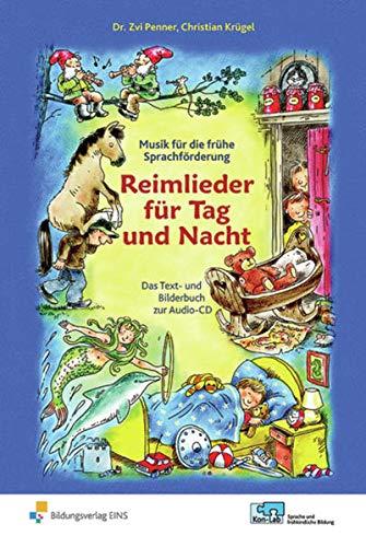 9783427504658: Reimlieder für Tag und Nacht: Das Text- und Bilderbuch zur Audio-CD