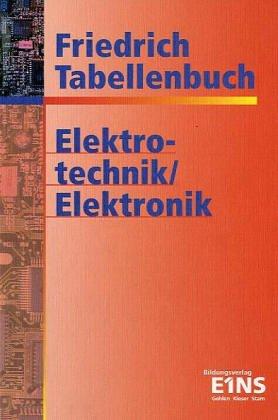 9783427530237: Friedrich Tabellenbuch Elektrotechnik Elektronik.