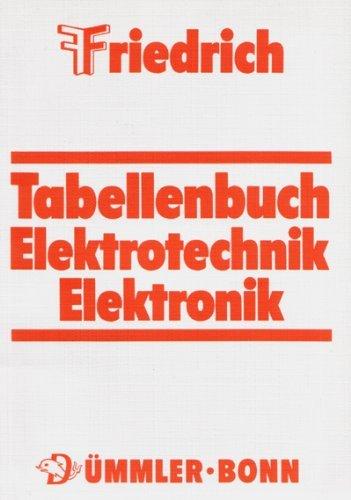9783427530244: Friedrich Tabellenbuch Elektrotechnik Elektronik
