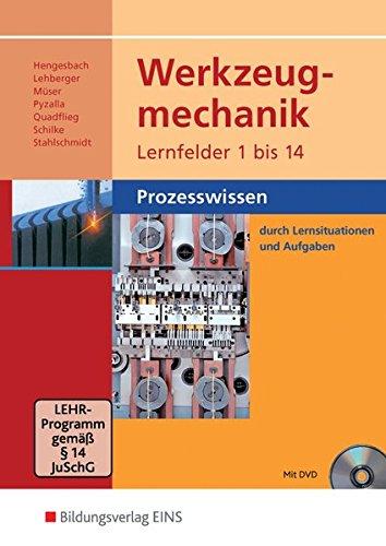 9783427552109: Werkzeugmechanik Lernfelder 1-14: Prozesswissen: Schülerband