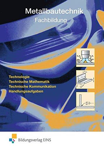 9783427921660: Metallbautechnik Fachbildung