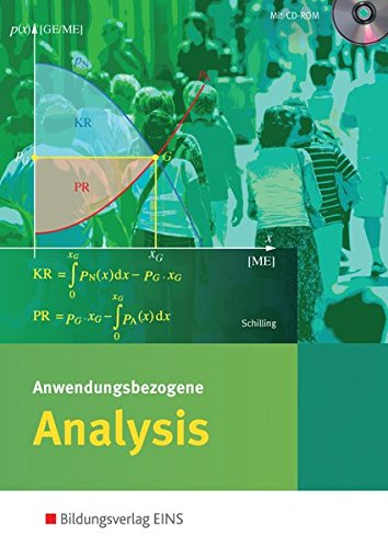 9783427930174: Anwendungsbezogene Analysis für die Allgemeine Hochschulreife an Beruflichen Schulen: Schülerband