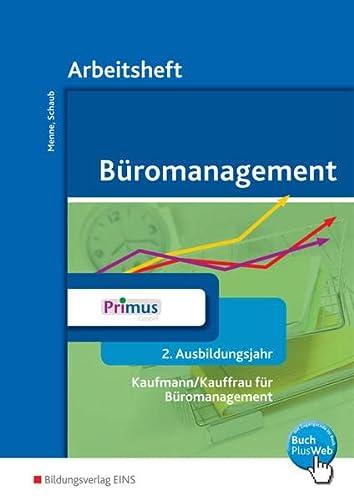 9783427942047: Büromanagement 2. Ausbildungsjahr: Arbeitsheft