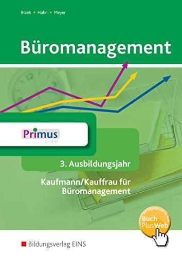 9783427942061: Büromanagement 3. Ausbildungsjahr: Schülerband