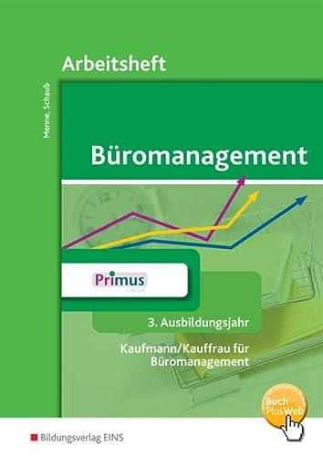 9783427942078: Büromanagement. 3. Ausbildungsjahr. Arbeitsheft