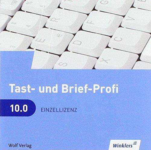 9783427981008: Tast- und Brief-Profi, CD-ROM. Version 9.0: Schülerlizenz CD-ROM