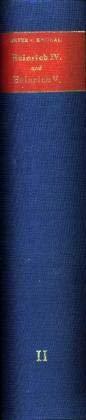 Jahrbücher des Deutschen Reiches unter Heinrich IV. und Heinrich V. Band II: 1070 - 1077 (Hardback)...
