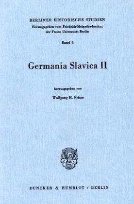 9783428050437: Germania Slavica II