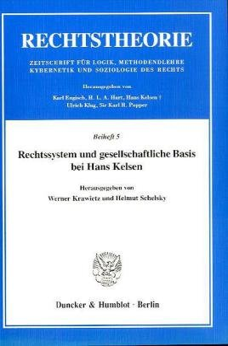 Rechtssystem und gesellschaftliche Basis bei Hans Kelsen: Hans Kelsen