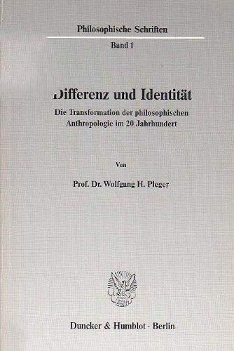 Differenz und Identität: Wolfgang H. Pleger