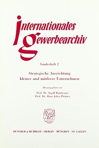 9783428065967: Strategische Ausrichtung kleiner und mittlerer Unternehmen.: Red.: Margrit Habersaat.