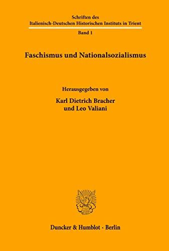 Faschismus und Nationalsozialismus: Karl Dietrich Bracher