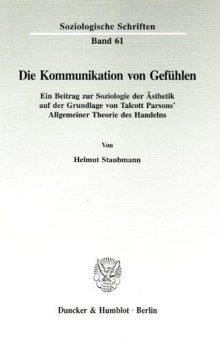 Die Kommunikation von Gefühlen: Helmut Staubmann