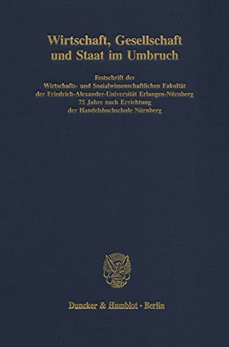 im Umbruch. Festschrift der Wirtschafts- und Sozialwissenschaftlichen Fakultät der ...
