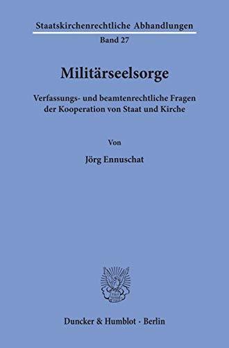 Militärseelsorge.: Ennuschat, Jörg: