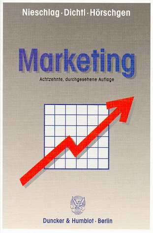 9783428087853: Marketing