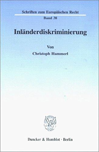 Inländerdiskriminierung: Christoph Hammerl