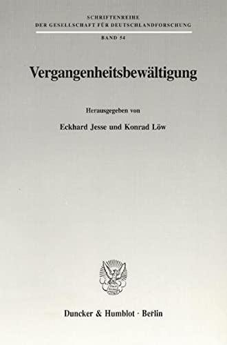Vergangenheitsbewältigung: Eckhard Jesse