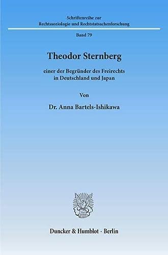 Theodor Sternberg -: Anna Bartels-Ishikawa