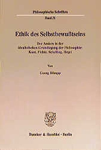 Ethik des Selbstbewußtseins: Georg R�mpp