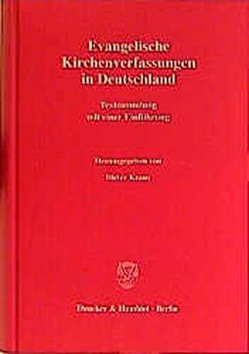 Evangelische Kirchenverfassungen in Deutschland: Dieter Kraus